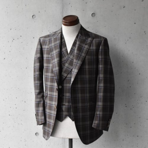 『BROWN CHECK SUIT』